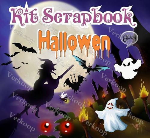 Kit Scrapbook Halloween Imagenes Png, Frames Cliparts Scrap