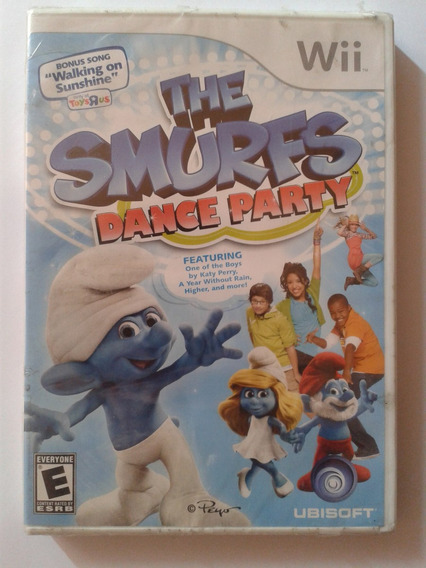 Jogo The Smurfs Dance Party Wii