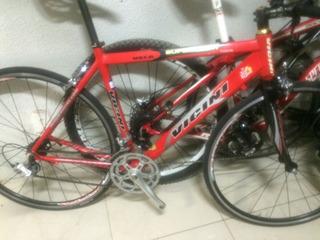 Bike Speed Vicini 705/ T.52 Tour De France Garfo De Carbono