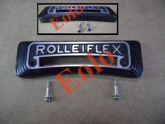 Rolleiflex - Plaquinha (só) Da Rollei C/ Fotometro - Rara !