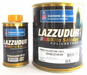 Kit Primer Fundo Lazzuril 8200 900ml 8:1 - Caixa 12 Unidades