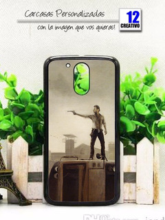 Carcasa The Walking Dead Moto G4 G5 G5s G6 Plus Play Case