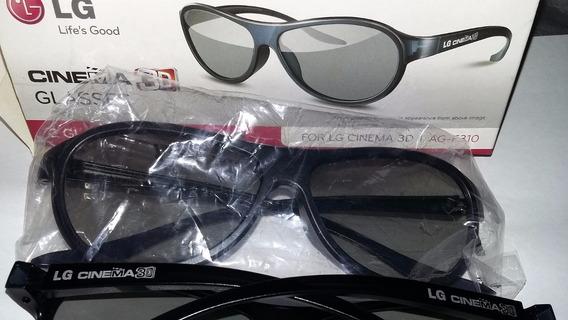 Óculos 3d 1 Par (frete Gratis)