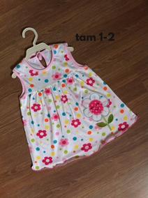 Kit De 3 Vestidos Florido Bebê