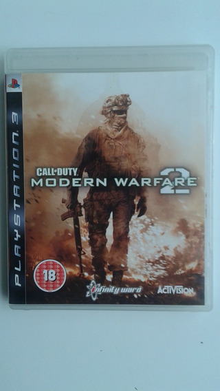 Call Of Duty Modern Warfare 2 Playstation 3 Semi Novo