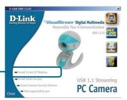 Webcam D-link Dsb C110