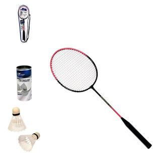 Badminton Com 2 Raquetes E 3 Petecas