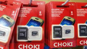 Cartão Micro Sdhc 8gb Marcar Choki Original Classe 10 9mb/s