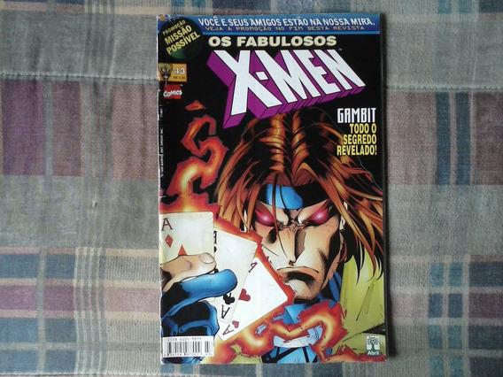 Revista Os Fabulosos X-men Nº 43 - Português