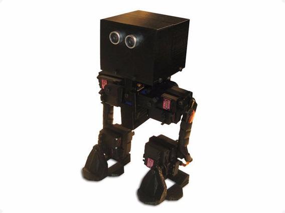 Peças De Chassi De Robô Bípede Projeto Aberto Arduino Uno