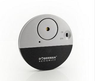 3 Alarma Para Puertas Ventanas Con Sensor De Vibracion