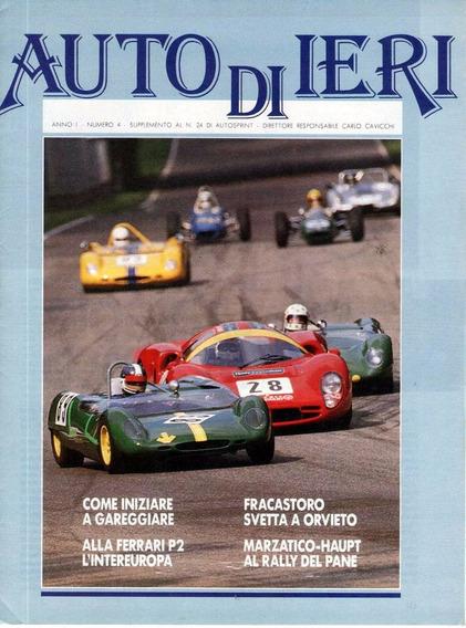 Auto Di Ieri - Ano I Nº 4 - Encarte - Auto Sprint