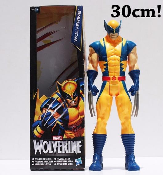 Boneco Wolverine X-men Marvel 30cm - Pronta Entrega