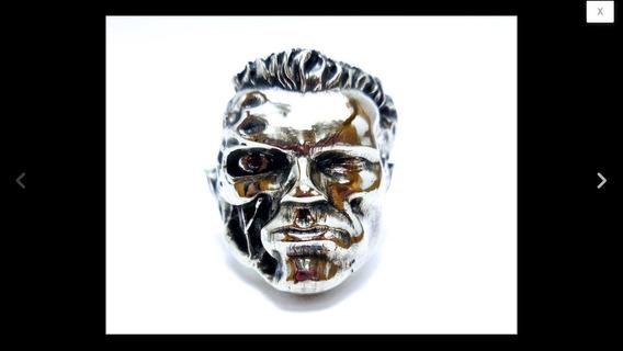 Anillo Terminator Coleccionistas Salvaci Plata 925 Calaveras