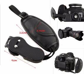 Alca De Mao Strap Hand Grip P/ Camera Canon Nikon Sony Etc