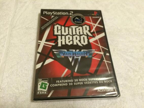 Guitar Hero Van Halen (sony Playstation 2) - Lacrado