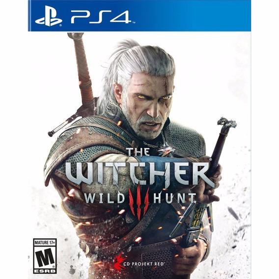 Jogo Usado The Witcher 3 Wild Hunt Portugues Playstation Ps4