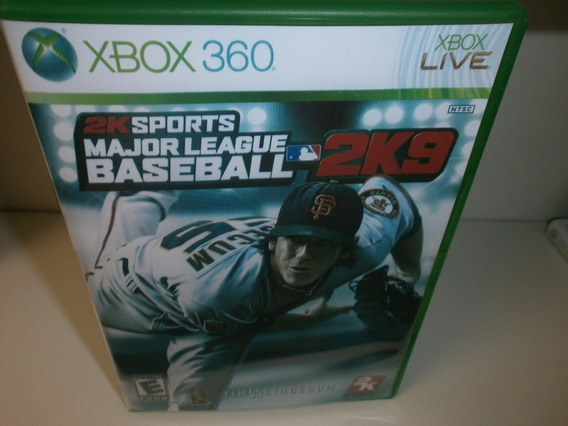 2k Sports Major League Baseball 2k9 - Xbox 360 - Frete 9,99
