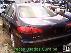 Peugeot 607 Sucata - Motor, Caixa, Lataria, Suspensão, Ar