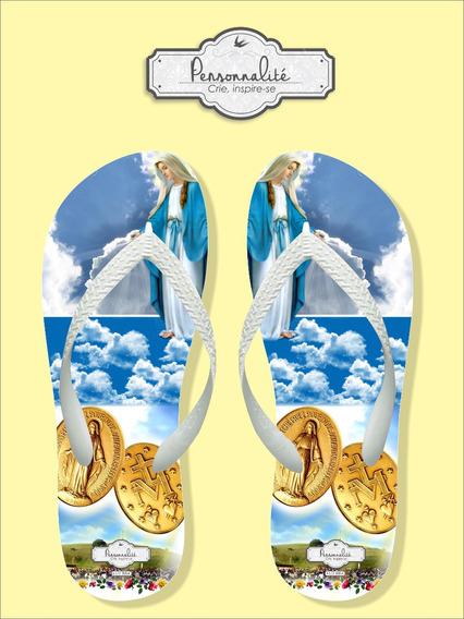 Chinelo Nossa Senhora Da Medalha Milagrosa N. Srª. Das Graça
