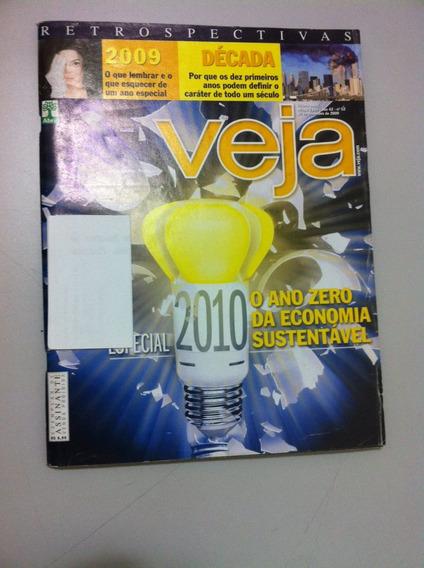 Revista Veja Nº 2145 Retrospectiva 2009 Economia Sustentável