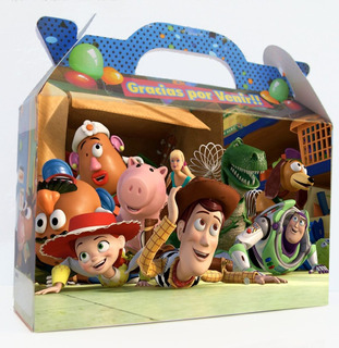 Toy Story - Cajita - Valijita Souvenir Pack X30