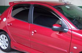 Calha Chuva Peugeot 206 207 Hatch Sedan 4p Tgpoli 20.001