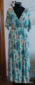 Vestido Tunica Estampada Talla Xl