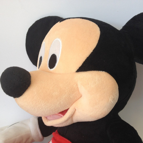Mickey Mouse Original Grande 42cm Pelúcia Disney Festa Cd436