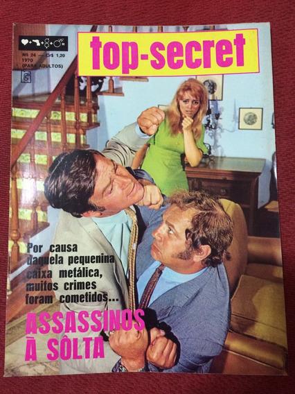 Fotonovela Top Secret Rara N 24 De 1970 Assassinos À Solta
