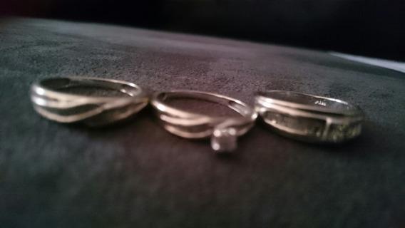 Anillos De Oro Blanco Con Diamantes Certificados