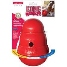 Kong Wobbler- Juguete Dispenser De Alimento. Perro. Large