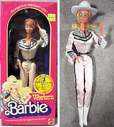 Boneca Barbie Cowgirl - 1980 Western Barbie