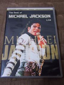 Dvd The Best Of Michael Jackson Live Ótimo Estado