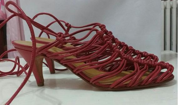 Zapatos Sandalias Rojos Mishka Nuevos