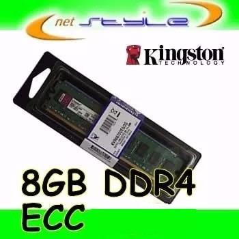 Kingston 8gb Ddr4 2133 Ecc Udimm P/ Lenovo Thinkserver Rs160