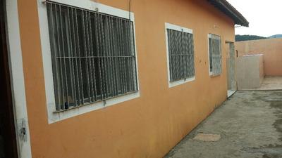 Casa 02 Dormitórios E Piscina Em Mongaguá (255)