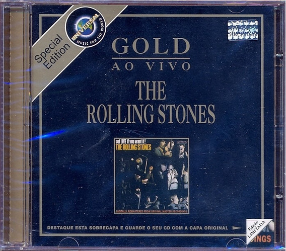 Rolling Stones Got Live If You Want It 1965 Cd Lacrado Gold