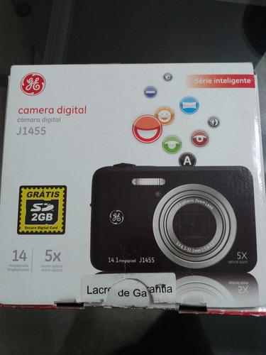 Imagem 1 de 7 de Câmera Digital Ge J1455 14mp Zoom 5x