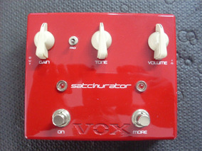 Pedal Distortion + Boost - Satchurator - Joe Satriani - Vox