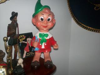 Pinocho Italiano Juguete Antiguo