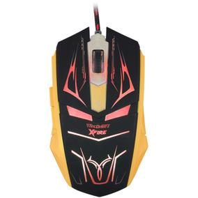 Mouse Gamer Tecdrive Xfire Neith 3200 Dpi 7 Botões Vermelho