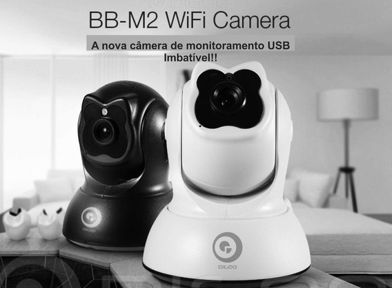 Camera Segurança Visão Noturna Via Wi-fi Celular Controle Re