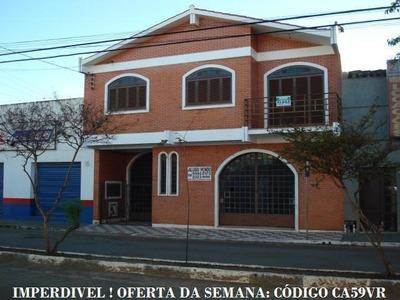 Casas A Venda Em São Gabriel Rs, Farmácia E Pousada - Ca59vr