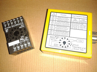 Detector De Masa Metalica Para Barreras 220v (matrix-12-24)