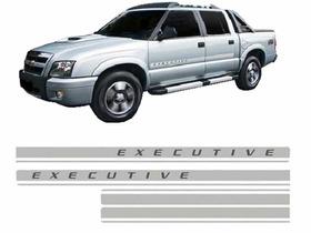 Adesivo Lateral Faixa S10 Blazer Executive 09 10 11