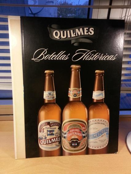 Publicidad Carton Quilmes Botellas Centenarias Historicas