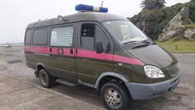 Camioneta Furgón Gaz 4x4