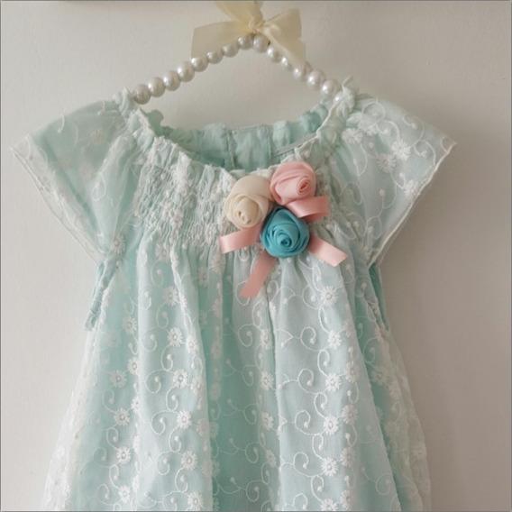 Vestido Para Bebé 1 Año / Vestido Niña T12m /set Regalo