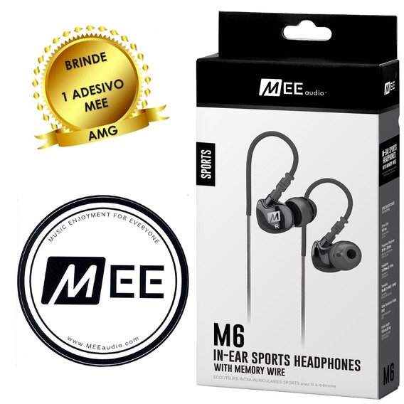 Fone De Ouvido Mee Audio - M6 Sport Fitness